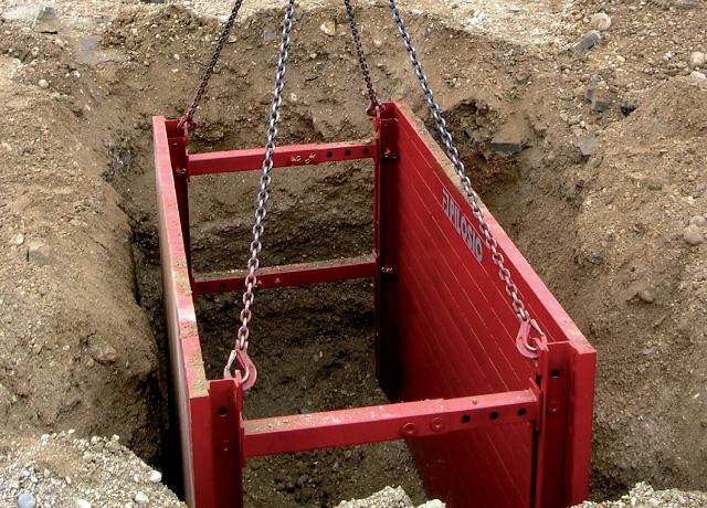 Blindaggio scavi