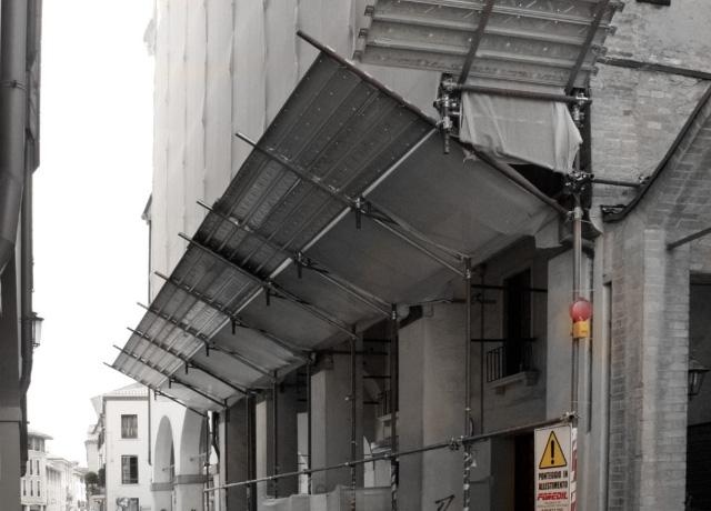 Noleggio sistemi di allarme per ponteggi e antifurti da cantiere