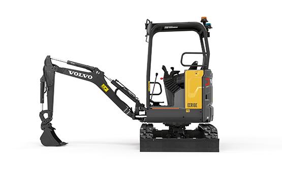 Volvo Compact Excavator ECR18E