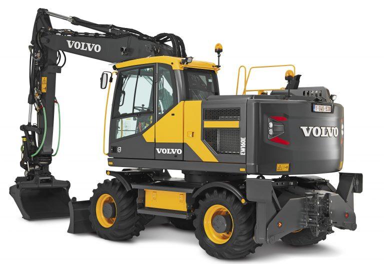 escavatori gommati Volvo Padova Venezia Rovigo Vicenza