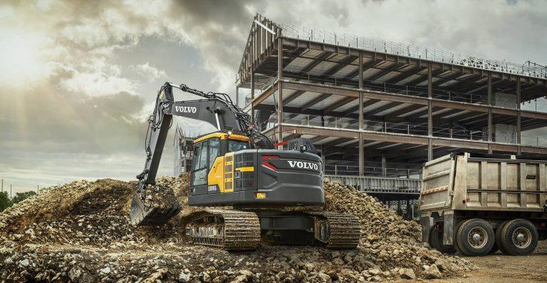 assistenza e ricambi escavatori e pale Volvo